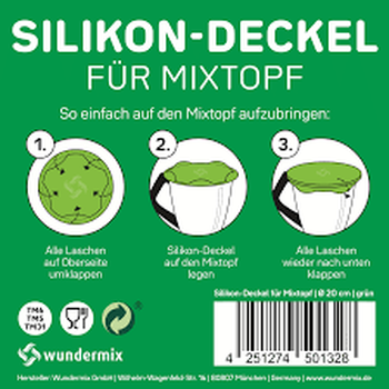 Mengbekerdeksel - silicone