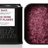 RED WINE SALT - 80 gr