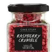 RASPBERRY CRUMBLE - 12 gr
