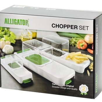 ALLIGATOR -  groentesnijder 3 in 1