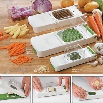 ALLIGATOR -  groentesnijder 3 in 1