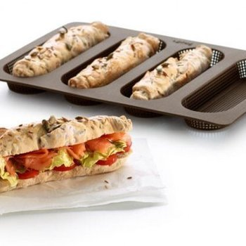 BAKVORM 4 MINI-BAGUETTES in 1